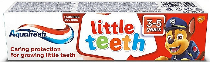 "Zubná pasta ""Moje mliečne zuby"" - Aquafresh Kids PAW Patrol"