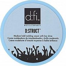 Voňavky, Parfémy, kozmetika Styling-krém na vlasy - D:fi D:struct Medium Hold Molding Cream