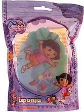 """Voňavky, Parfémy, kozmetika Detská hubka """"Dora"""", 169-9 - Suavipiel Dora Bath Sponge"""