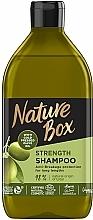Voňavky, Parfémy, kozmetika Šampón s olivovým olejom pre starostlivosť o dlhé vlasy - Nature Box Shampoo Olive Oil