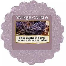 Voňavky, Parfémy, kozmetika Voňavý vosk - Yankee Candle Dried Lavender & Oak Wax Melt
