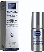 Voňavky, Parfémy, kozmetika Regeneračné nočné sérum - MartiDerm Platinum Night Renew Serum