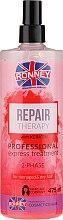 Voňavky, Parfémy, kozmetika Dvojfázová hmla pre poškodené a suché vlasy - Ronney Repair Therapy Professional Express Treatment 2-Phase