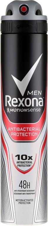 Antiperspirantový dezodorant - Rexona Antibacterial Protection Antiperspirant