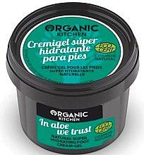 """Voňavky, Parfémy, kozmetika Krémový gél na nohy """"Veríme v aloe"""" - Organic Shop Organic Kitchen Foot Cream-Gel"""