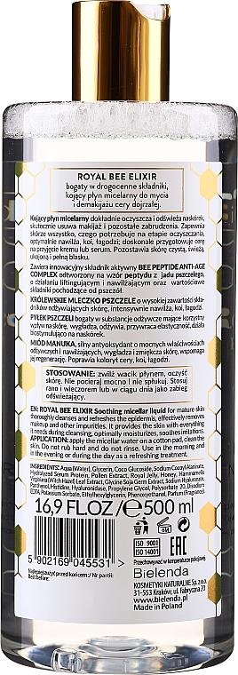Upokojujúca micelárna tekutina - Bielenda Royal Bee Elixir — Obrázky N2