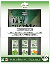 """Voňavky, Parfémy, kozmetika Sada éterických olejov """"Do práce"""" - Galeo To Help You Work Gift Set (ess/oil/3x10ml)"""