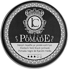 Voňavky, Parfémy, kozmetika Pánska čierna stylingová pomáda na vlasy - Lavish Care Black Pomade Medium Hold Black