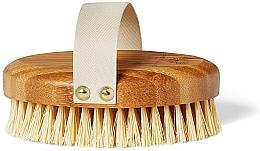 Voňavky, Parfémy, kozmetika Bambusová kefa na suchú masáž - Crystallove Bamboo Agave Body Brush