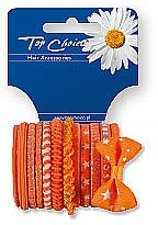 Voňavky, Parfémy, kozmetika Gumičky na vlasy 12 ks, 22005 - Top Choice