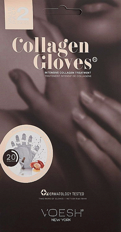 Kolagénové rukavice - Voesh Collagen Gloves Value Pack