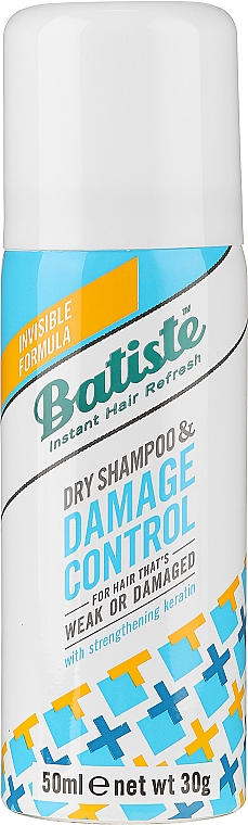 Suchý šampón s keratínom - Batiste Dry Shampoo Damage Control