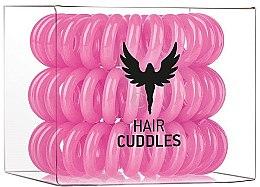 Voňavky, Parfémy, kozmetika Gumičky do vlasov, ružové, 3ks - HH Simonsen Hair Cuddles Pink
