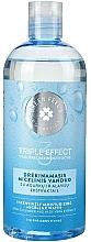 Voňavky, Parfémy, kozmetika Hydratačná micelárna voda s extraktom z uhoriek - Green Feel's Triple Effect Intensively Moisturizing Micellar Water