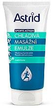 Voňavky, Parfémy, kozmetika Masážna chladiaca emulzia - Astrid Sports Action Cooling Massage Cream