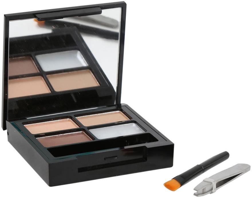 Sada pre obočie - Makeup Revolution Focus & Fix Brow Kit