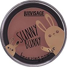 Voňavky, Parfémy, kozmetika Púder-bronzer - Luxvisage Sunny Bunny Bronzing Powder