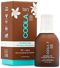 Voňavky, Parfémy, kozmetika Sérum na tvár - Coola Sunless Tan Anti-Aging Face Serum