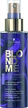 Voňavky, Parfémy, kozmetika Neutralizačný kondicionér v spreji na vlasy pre studené odtiene blond - Schwarzkopf Professional Blondme Cool Blondes Neutralizing Spray Conditioner