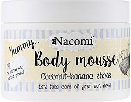 """Voňavky, Parfémy, kozmetika Telová pena """"Kokoso-banánový koktail"""" - Nacomi Body Mousse Coconut-Banana Shake"""