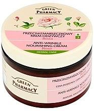 """Voňavky, Parfémy, kozmetika Krém na tvár """"Ruža"""" - Green Pharmacy Anti-Wrinkle Vanishing Cream"""