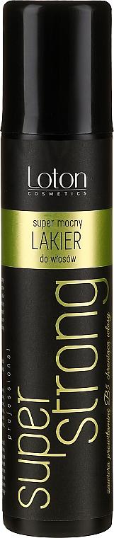 Lak na vlasy extra silné držanie - Loton Hair-Spray Super Strong