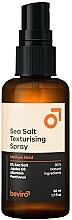Voňavky, Parfémy, kozmetika Soľný texturujúci sprej na vlasy pre strednú fixáciu - Beviro Salty Texturizing Spray Medium Hold