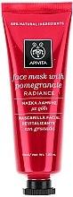 Voňavky, Parfémy, kozmetika Maska na hojenie a žiarivosť pokožky s granátovým jablkom - Apivita Revitalizing and Radiance Mask