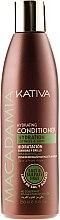 Voňavky, Parfémy, kozmetika Zvlhčujúci kondicionér pre normálne a poškodené vlasy - Kativa Macadamia Hydrating Conditioner