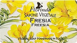 """Voňavky, Parfémy, kozmetika Prírodné mydlo """"Frézia"""" - Florinda Sapone Vegetale Freesia"""