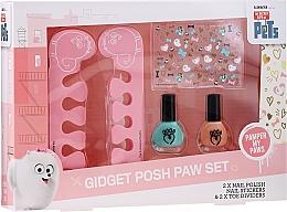 Voňavky, Parfémy, kozmetika Sada - Corsair The Secret Life Of Pets (n/polish/2pcs + accessory/2pcs + n/sticker/1pc)