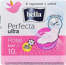Voňavky, Parfémy, kozmetika Vložky Perfecta Rose Deo Fresh Drai Ultra, 10 ks - Bella