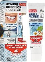 """Voňavky, Parfémy, kozmetika Zubný prášok v hotovej forme na modrej hline Baikal """"3D"""" - Fito Kozmetic Ľudové recepty"""