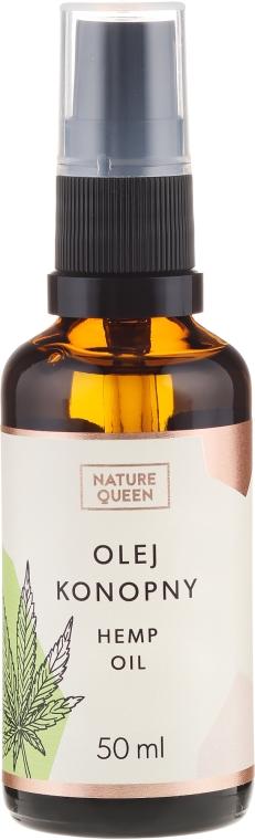 Kozmetický olej konopných semienok - Nature Queen Hemp Oil — Obrázky N3
