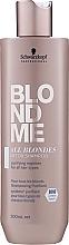 Voňavky, Parfémy, kozmetika Detoxikačný šampón pre všetky typy vlasov - Schwarzkopf Professional Blondme All Blondes Detox Shampoo