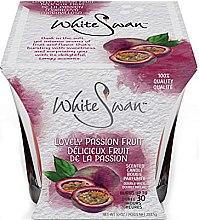 """Voňavky, Parfémy, kozmetika Vonná sviečka """"Marakuja"""" - White Swan Lovely Passion Fruit"""