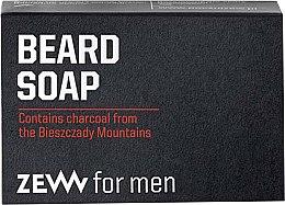 Voňavky, Parfémy, kozmetika Tvrdé mydlo na starostlivosť o brady - Zew For Men Natural Beard Soap