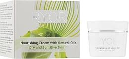 Voňavky, Parfémy, kozmetika Výživný krém s prírodnými olejmi - Ryor Face Care