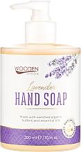 """Voňavky, Parfémy, kozmetika Tekuté mydlo """"Levanduľa"""" - Wooden Spoon Lavender Hand Soap"""