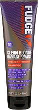 Voňavky, Parfémy, kozmetika Tonujucí šampón na vlasy - Fudge Clean Blonde Damage Rewind Shampoo