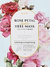 Voňavky, Parfémy, kozmetika Zjemňujúca maska na päty - Petitfee&Koelf Rose Petal Satin Heel Mask