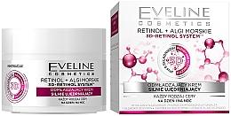"""Voňavky, Parfémy, kozmetika Omladzujúci krém """"Intenzívny lifting"""" pre všetky typy pleti - Eveline Cosmetics Retinol+Sea Algae Intensely Firming Rejuvenating Cream"""