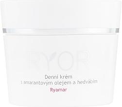 Voňavky, Parfémy, kozmetika Denný krém s amarantovým olejom a extraktom z hodvábu - Ryor Ryamar