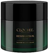 Voňavky, Parfémy, kozmetika Nočný krém na tvár - Clochee Premium Renew Night Cream