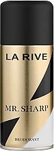 Voňavky, Parfémy, kozmetika La Rive Mr. Sharp - Dezodorant