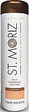 Voňavky, Parfémy, kozmetika Lotion-samoopaľovanie na telo - St. Moriz Self Tanning Lotion Medium
