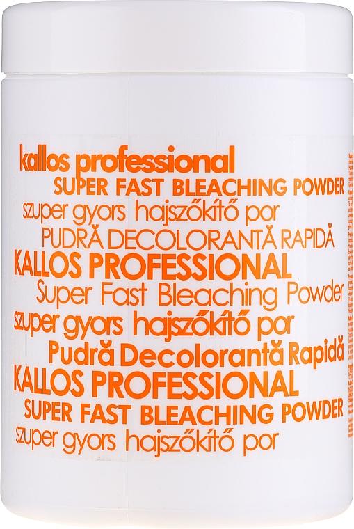 Bieliaci prášok na vlasy - Kallos Cosmetics Powder For Hair Bleaching