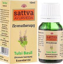Voňavky, Parfémy, kozmetika Esenciálny olej - Sattva Ayurveda Tulsi Basil Essential Oil