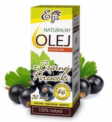 Prírodný olej zo semien čiernych ríbezlí - Etja Natural Oil