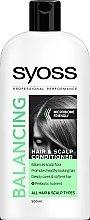 Voňavky, Parfémy, kozmetika Balzam na všetky typy vlasov a pokožku hlavy - Syoss Balancing